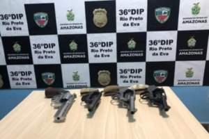 Polícia Militar detém quadrilha suspeita de desviar armas apreendidas