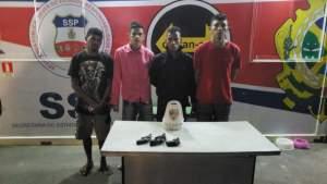 Polícia Militar detém quatro homens com armas na AM-010