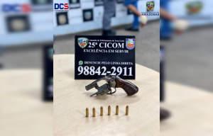 Polícia Militar detém suspeito de roubo na zona Leste