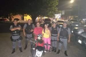 Polícia Militar recupera motocicleta assaltada no Jorge Teixeira