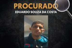 Polícia pede o apoio para localizar autor de latrocínio no Dom Pedro