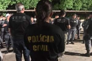 Polícia prende 13 pessoas por crimes diversos no interior