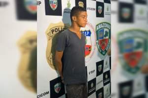 Polícia prende autor de latrocínio tentado na zona Norte de Manaus