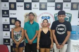 Polícia prende bando envolvido em homicídio tentado no bairro Lírio do Vale