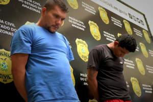 Polícia prende dupla com arsenal e mais de 330 quilos de drogas em Manaquiri