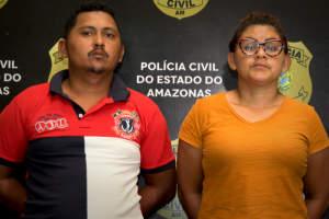 Polícia prende dupla integrante de uma facção criminosa em Manaus
