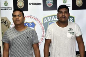 Polícia prende dupla procurada por roubo cometido no bairro São José