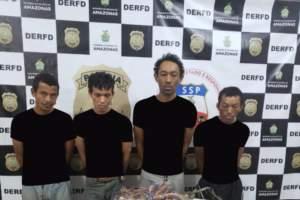 Polícia prende grupo por furtos de fios de cobre de uma empresa de telefonia na capital