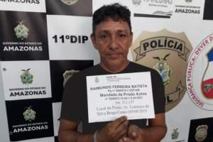 Polícia prende homem condenado a mais de oito anos de prisão por roubo majorado