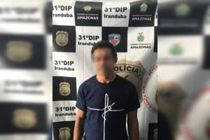 Polícia prende homem que estuprava uma criança vizinha dele em Iranduba