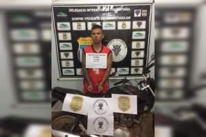 Polícia prende jovem envolvido em roubos a postos de combustíveis em Itacoatiara