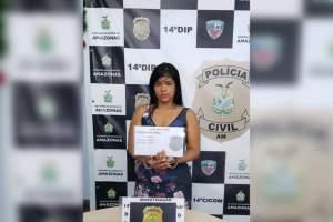 Polícia prende jovem por comercializar drogas na zona Leste da capital