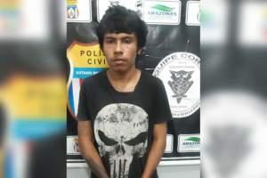 Polícia prende jovem por envolvimento com o tráfico de drogas em Itacoatiara