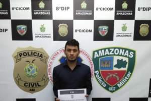 Polícia prende jovem que se passava por funcionário da Afeam para aplicar golpes na capital