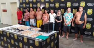 Polícia prende nove pessoas durante operação Cidade das Trevas em invasões de Manaus