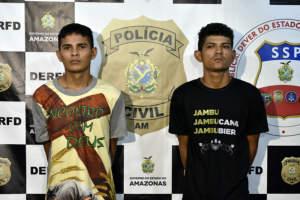 Polícia prende primos que atacaram estudante para roubar celular no bairro Flores