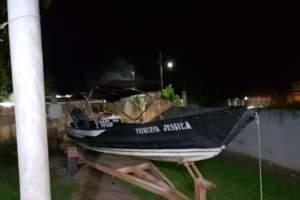 Polícia prende quatro infratores e apreende adolescentes em ação em Manaquiri