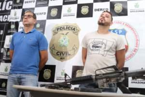 Polícia prende três homens por estarem planejando roubo a um banco da capital