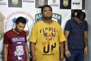 Polícia prende trio envolvido em tentativa de latrocínio no bairro São José
