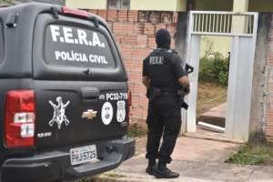 Polícia realiza operação em Presidente Figueiredo contra o tráfico