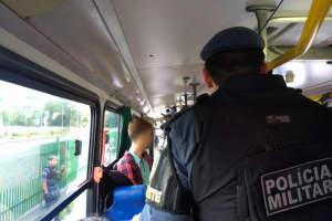 Polícia recebeu 500 acionamentos da população por meio de aplicativo que previne roubos em ônibus