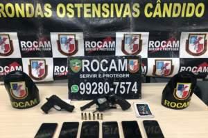 Policiais da Rocam detêm suspeitos de roubo na zona Norte