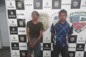 Policiais militares da 14ª Cicom detêm dois suspeitos de roubo na zona Leste