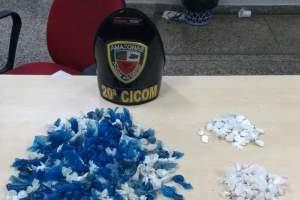 Policiais militares da 20ª Cicom detêm mulheres com drogas na zona Oeste