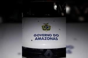 Policiais são recebidos a tiros de fuzil por bandidos no São Geraldo