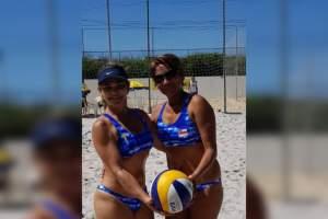 Policial integra dupla feminina de vôlei que vai disputar título brasileiro em novembro