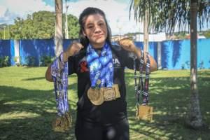 Prefeitura apoia lutadora em competição nacional de jiu-jitsu