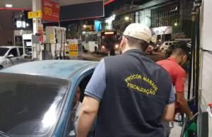Prefeitura de Manaus intensifica fiscalização nos postos de combustíveis