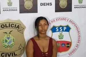 Presa mulher que matou jovem em briga na zona Sul de Manaus