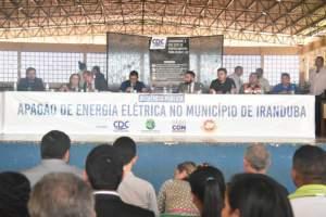 Procon-AM reforça a população de Iranduba relacionar prejuízos para punir Amazonas Energia