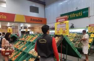 Procon Manaus autua supermercados por irregularidades em produtos