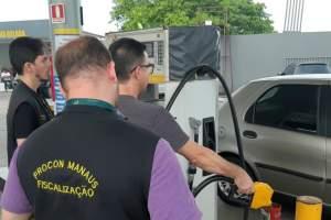 Procon Manaus começa a autuar postos por aumentos abusivos na gasolina