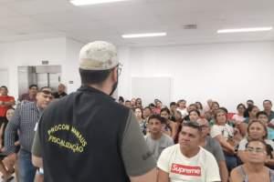 Procon Manaus faz nova fiscalização em agência bancária autuada nesta semana