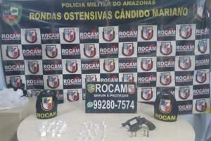 Rocam detém dois suspeitos por tráfico de drogas no Alvorada