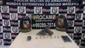 Rocam detém suspeitos com arma de fogo na Ponta Negra