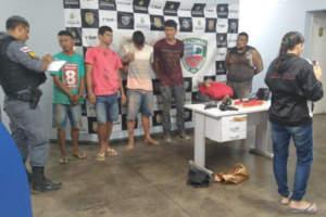 Seis homens são presos após tiroteio na zona Sul de Manaus