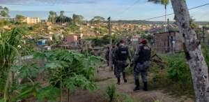 SSP-AM deflagra operação contra tráfico de drogas na zona Norte