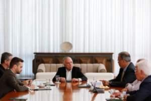 Temer reune com ministros para discutir a situação de RR