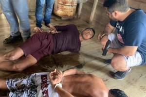 Trio é preso por compor quadrilha que atua no tráfico e em roubos em Manaus